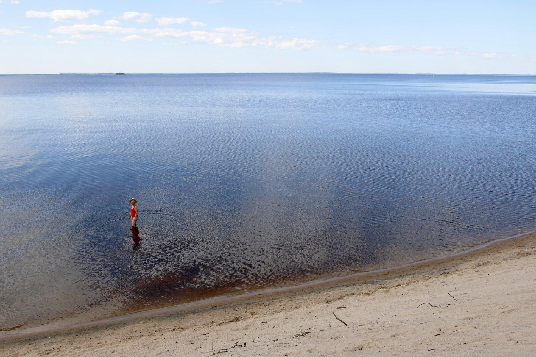Vuokatin kesä Hiukan uimarannalla